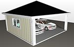 Ritningar fritidshus garage hus Byggritningar bygglovsritning ByggTeknikCentrum