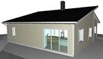 Ritningar fritidshus garage hus Byggritningar ByggTeknikCentrum
