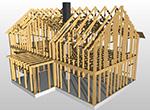 Ritningar fritidshus garage hus Byggritningar bygglovsritningar ByggTeknikCentrum