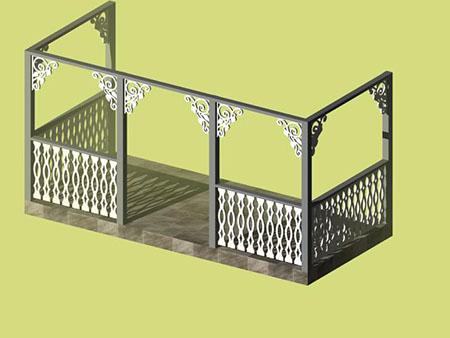 Snickarglädje veranda mallar